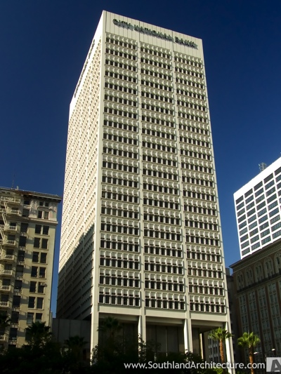 city building. Photo of City National Bank Building in Los Angeles  California 606 South Olive Street