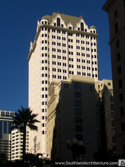 Photo of Figueroa Tower in Los Angeles, California