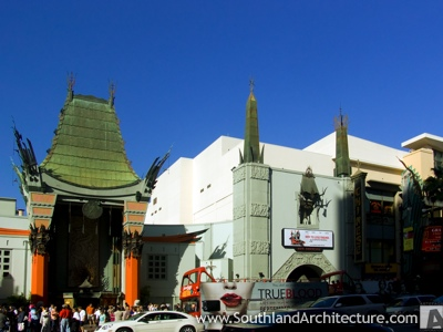 Stock photo of Grauman's Chinese Theatre, Los Angeles