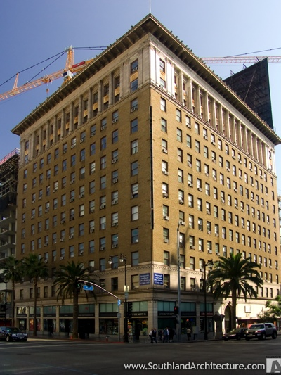 Photo of The Taft Building in Los Angeles, California