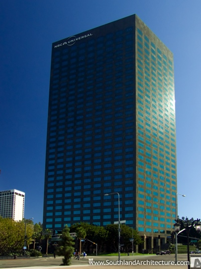 Photo of NBC Universal Building in Universal City, California